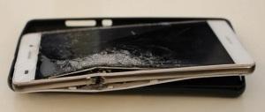 Разбитый Huawei P8 Lite
